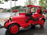 Ancien véhicule de pompiers