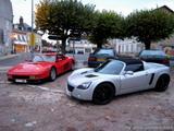 Ferrari Testarossa & Opel Speedster