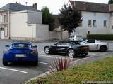 Opel Speedster et Lotus Elise